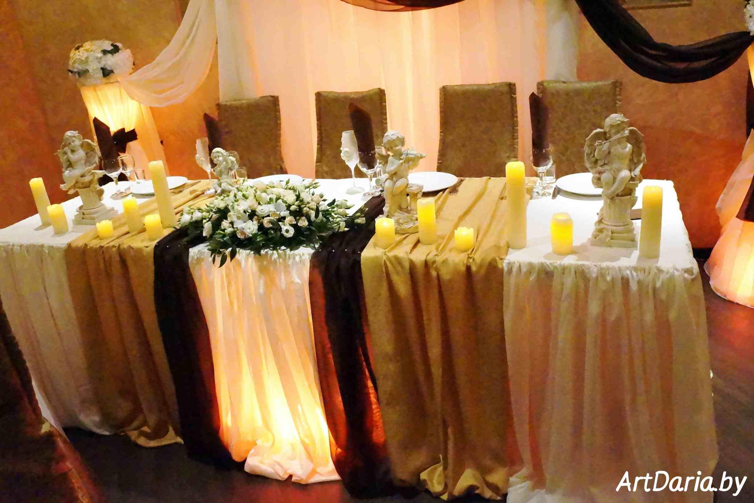 Оформление свадебного стола своими руками, инструкции 98